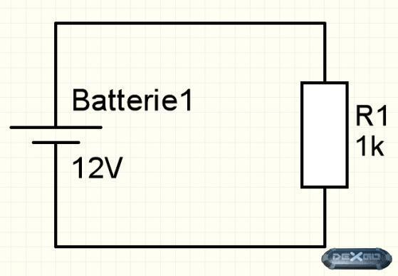 DeXgo - FAQ: Elektrotechnik: Grundlagen: Der einfache Stromkreis